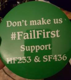 FailFirst Button